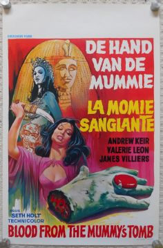 Blood From the Mummy's Tomb (1971) - Hammer Horror | Valerie Leon